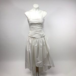 Lillie Rubin vintage 80s high low Wedding dress